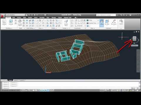 Flatten a 3D Model into a 2D Drawing