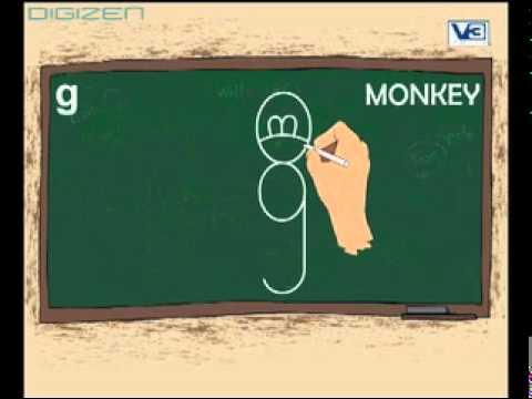 G drawing break monkey