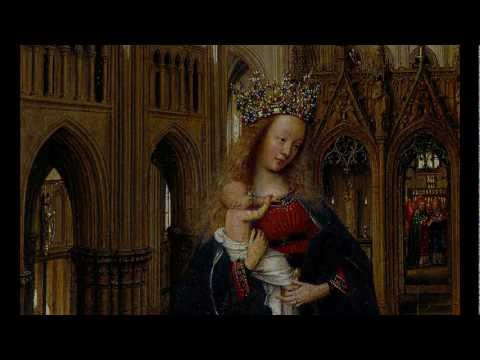 Jan van Eyck, The Madonna in the Church, c. 1438