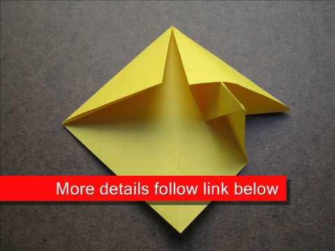 How to Fold Origami Mushroom - OrigamiInstruction.com