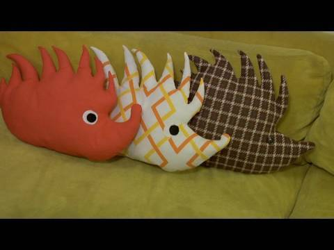Make a Hedgehog Plushie, Decor it Yourself