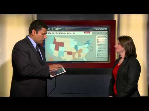 Map Center: What If the Battleground States Go Red?