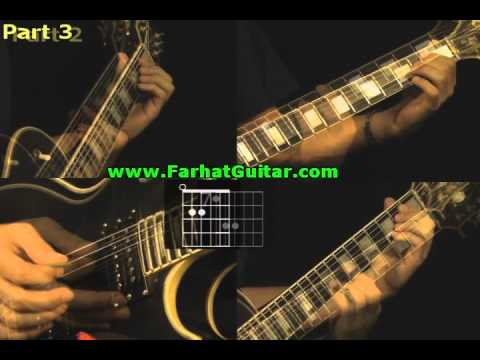 How to Play Basket Case - Green Day Guitar Part 4 www.FarhatGuitar..com