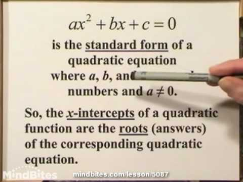 Int Algebra: Factoring Quadratic Equations
