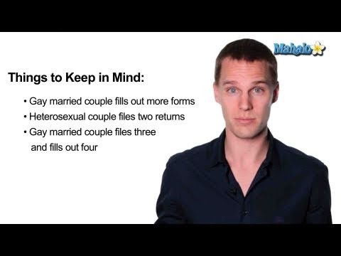 Correct- How to File Taxes as a Gay Married Couple