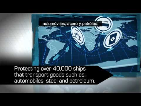 NATO Counter Piracy SPANISH Subtitles