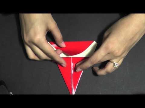 Origami - Make a Santa Face
