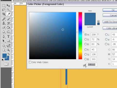 How To Slice and Code Photoshop PSD Template Overview Lesson 16