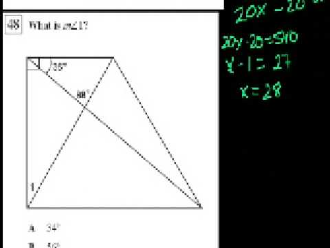 CA Geometry: Deducing Angle Measures