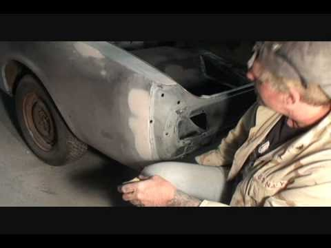 Automobile Restoration-How To Repair Your Quarter Panel Extention To Prefection. Part 6