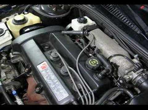 DOHC Spark Plug Remove & Replace