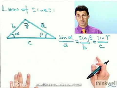 Pre-Calculus: The Law of Sines