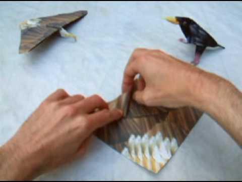 Origami Plane: Eagle