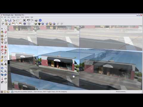 How to Model for Google Earth using Google SketchUp