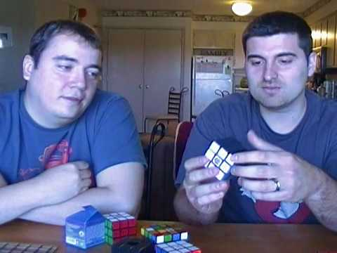 2) DIY CUBES Rubik's Cube DIY Speed Cube Review DIY CUBE