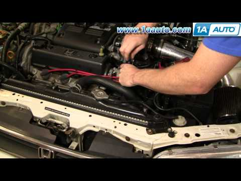 How To Install Replace Distributor Cap and Rotor Honda Accord V6 95-97 1AAuto.com
