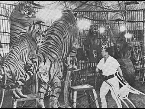 Jean Shepherd's Broadcast from Inside Lion Tamer Clyde Beatty's Cage