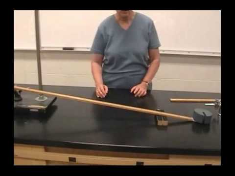 PHYS1550 Simple Machines - Lever and Pulley