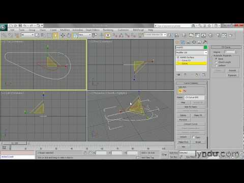 How to combine NURBS curves | lynda.com tutorial