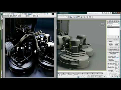 Native Solids Import/Export — 3ds Max Design 2011 New Features