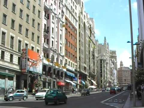 Gran Via in Madrid 1