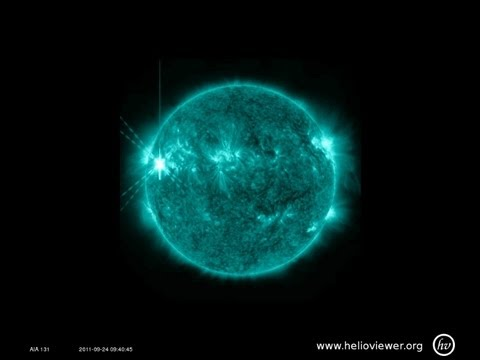 The Sun unleashes another X-class flare
