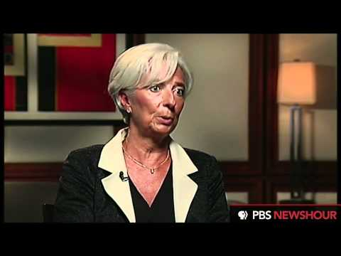 "Christine Lagarde on U.S. Economic Recovery: ""It's Much Slower Than We Would Like"""