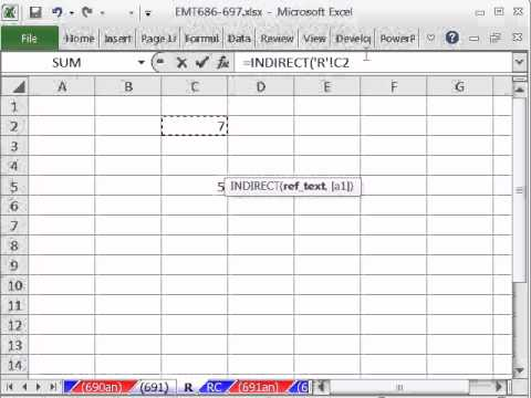 Excel Magic Trick 691: Look At Cell C2 No Matter How Many Rows Or Columns You Insert Or Delete