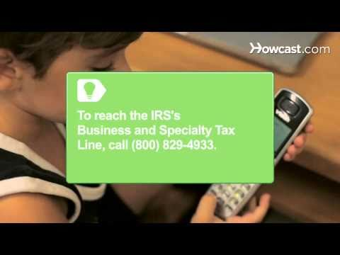 How To Get a Tax ID Number