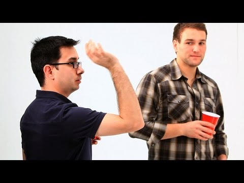 How to Play Drinking Games: Beer Pong / Shot Techniques