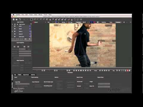 How to rotoscope a body | lynda.com tutorial