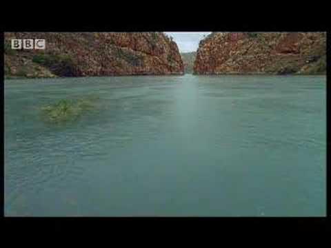 Great natural wonders - tidal waves at Talbot Bay, Australia - David Attenborough - BBC