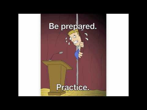KP's Speech Class - Stage Fright.mov