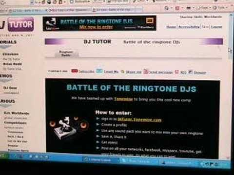 Tonemine, BATTLE OF THE RINGTONE DJ's
