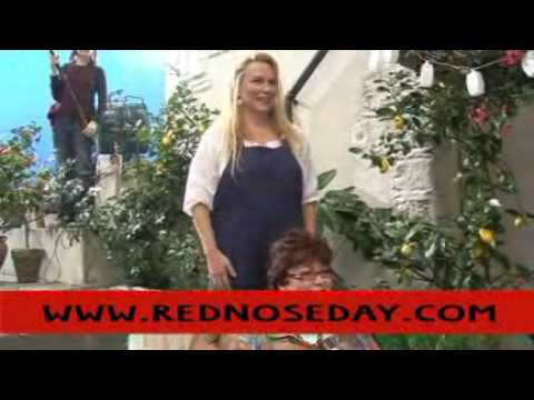 Behind the scenes of Mamma Mia - Red Nose Day 2009