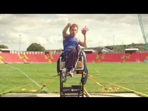 Spend 100 seconds with Stephen Miller - British Paralympic Gold medallist (London 2012)