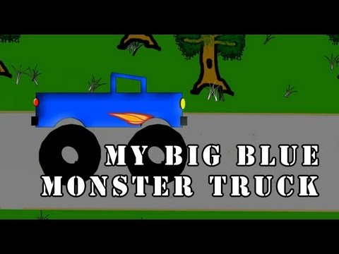 Vids4Kids.tv - My Big Blue Monster Truck