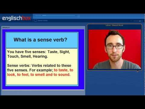 Sense Verbs & Verb Patterns | English Grammar