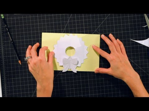 How to Make Pop-Up Cards and Crafts: Wreath