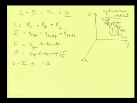 Mod-01 Lec-02 General heat conduction equation