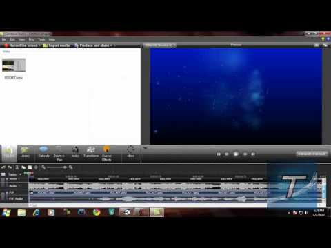 Camtasia Studio 7 - First Thoughts