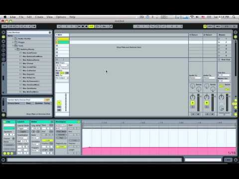 Manually Assigning MIDI Values in Ableton Live