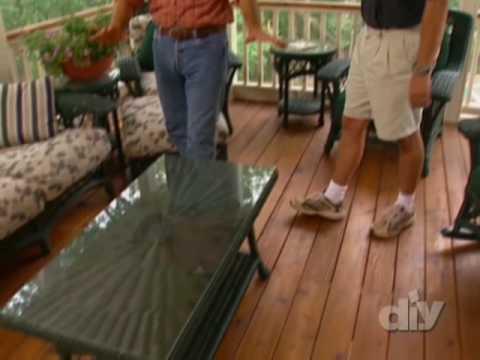 Versatile Cedar Deck and Porch-DIY