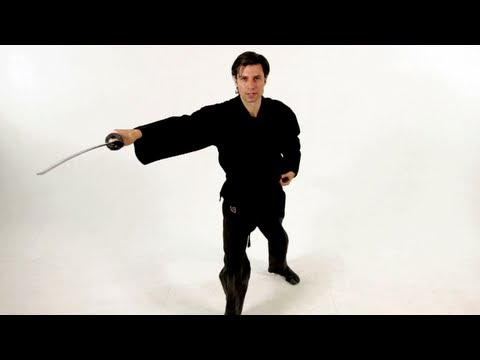 Basic Draw Strikes: Horizontal | Katana Sword Fighting