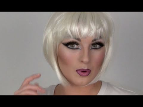 Drag make-up tutorial Pt.2 (eyes, contouring etc)