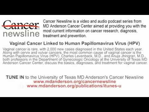 Vaginal Cancer Linked to Human Papillomavirus (HPV)