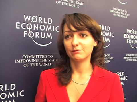 Europe & Central Asia World Economic Forum 2008 - Benita Sirone