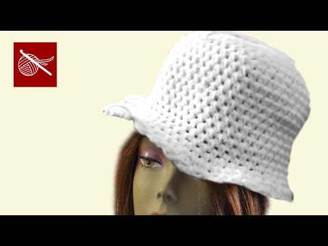 Art of Crochet by Teresa - Crochet Cloche Hat Part 2