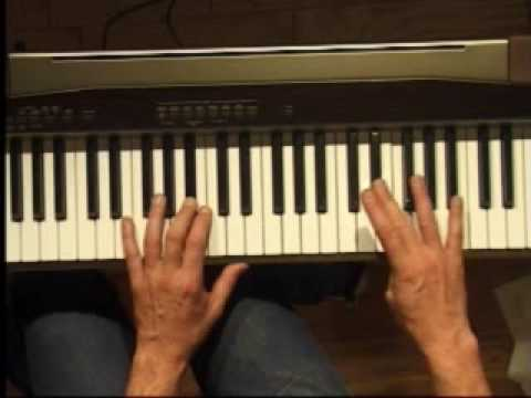 Piano Lesson - How to Play the Bb major scale (right hand)