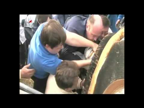 Expedition 30 Crew Lands Safely in Kazakhstan